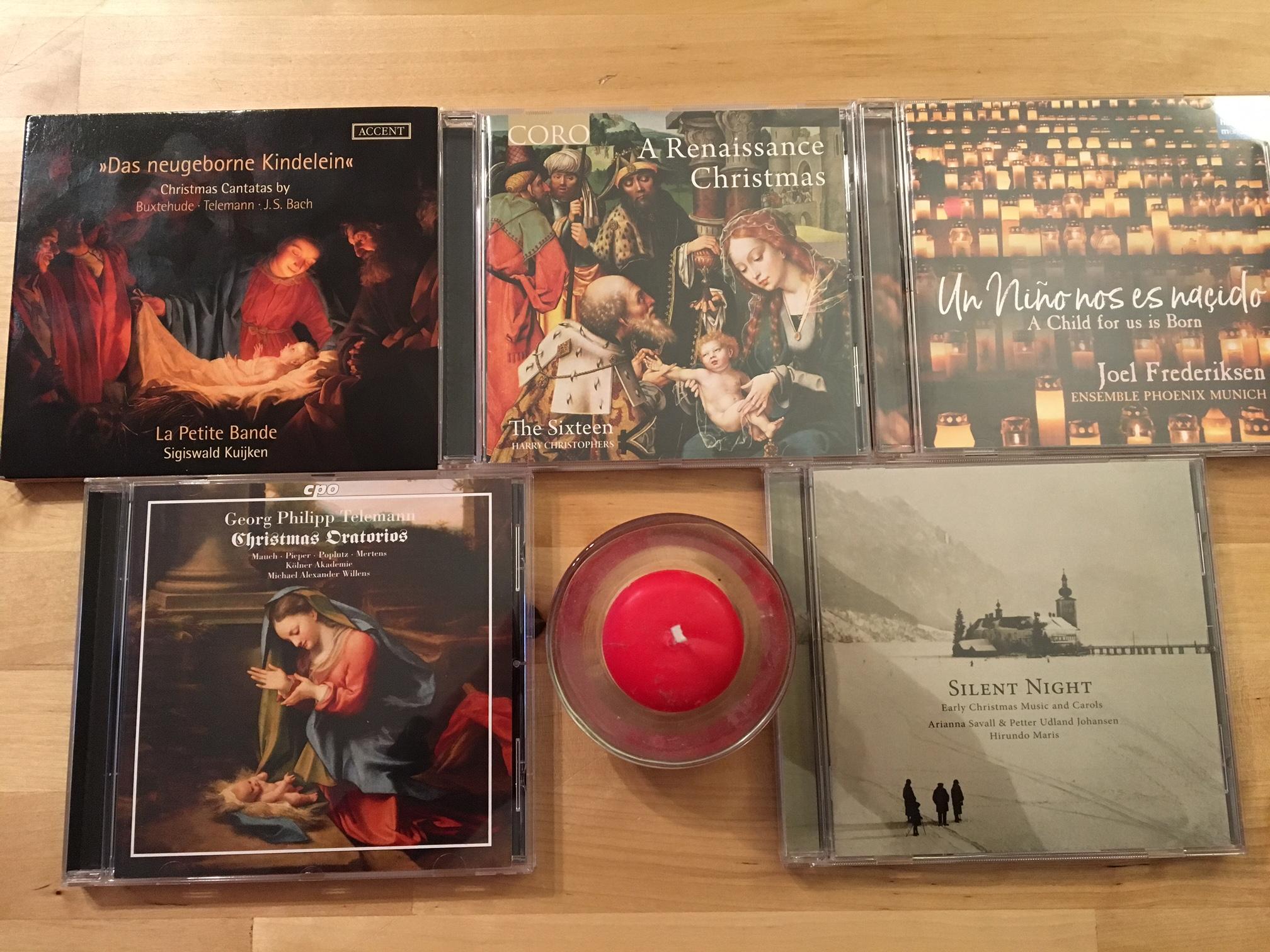 Weihnachts-CDs 2018 | Bernhard Schrammek
