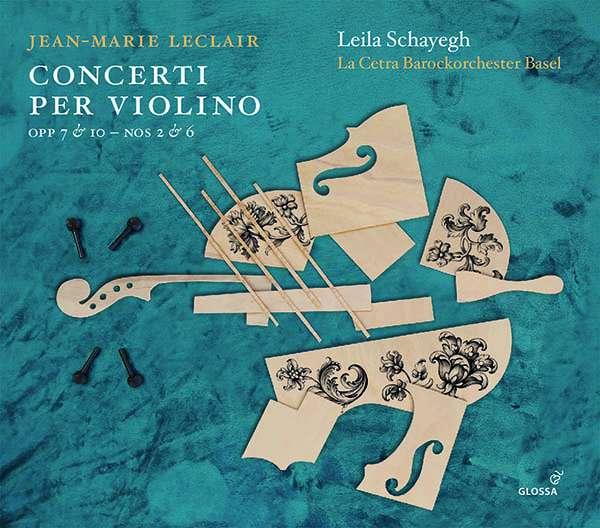 Leclair Violinkonzerte